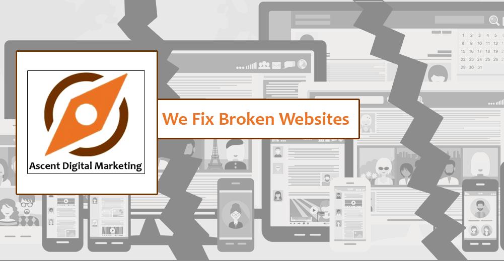 We Fix Broken Websites